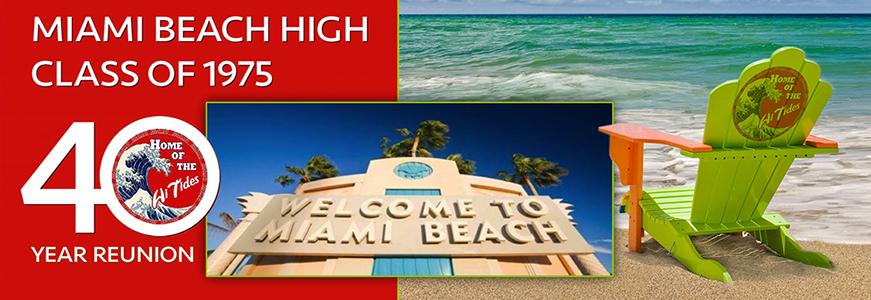 Miami Beach High 1975 Reunion